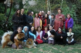 Participants of the 2012 Adelaide Vipashyana Retreat